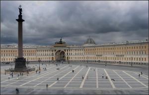 Дворцовая площадь в Питере